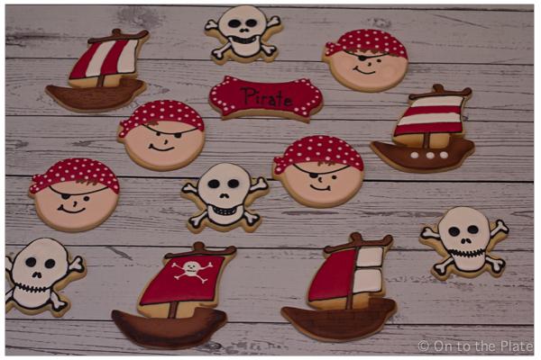 Princesses and Pirate Cookies