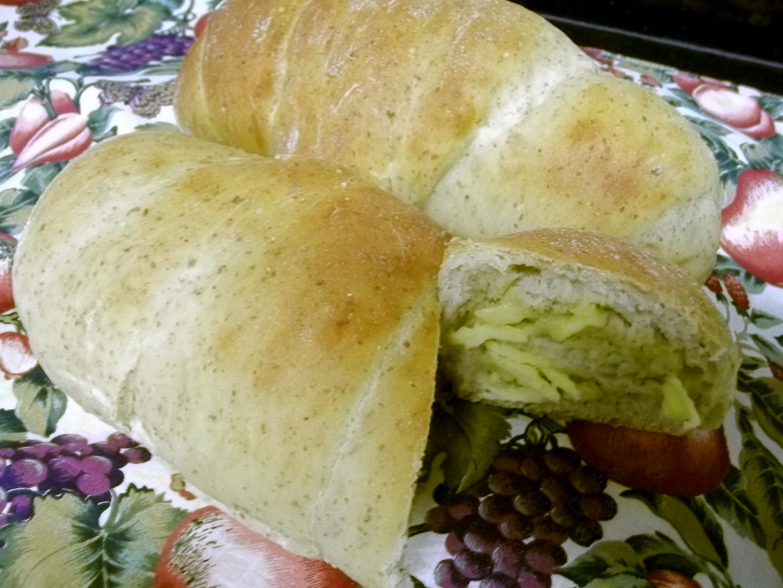 Pão com linhaça e iogurte