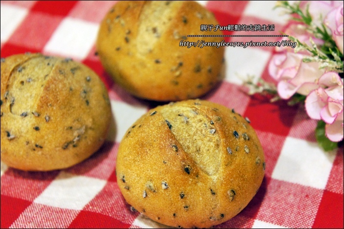 Bread│麵包機‧芝麻小圓法