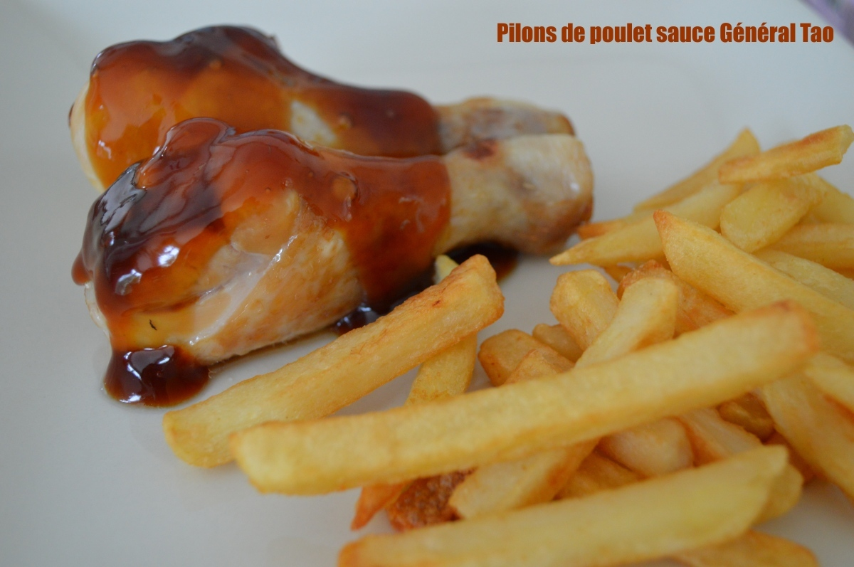 Pilons de poulet sauce Général Tao
