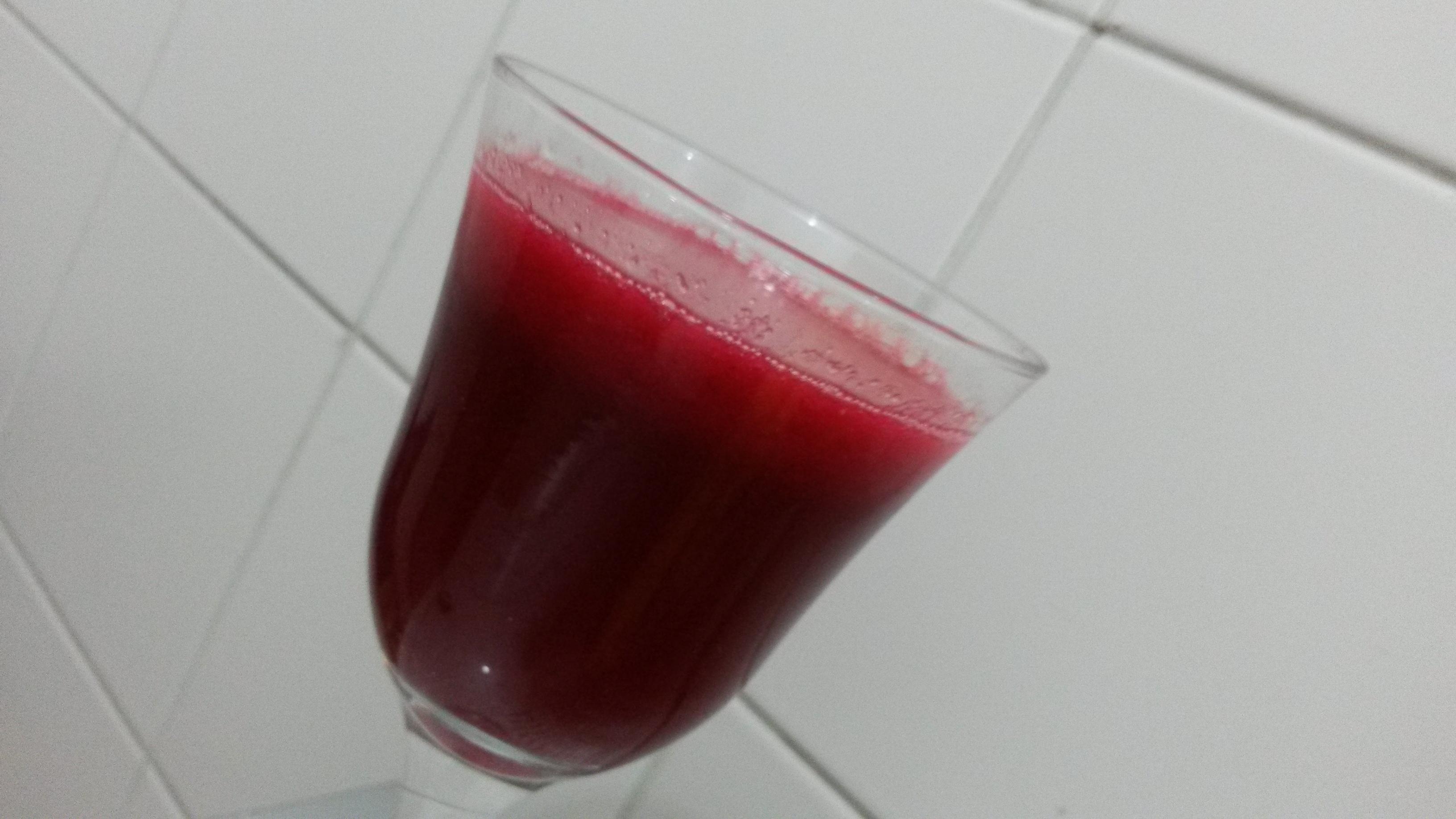 Suco de Beterraba e Cenoura