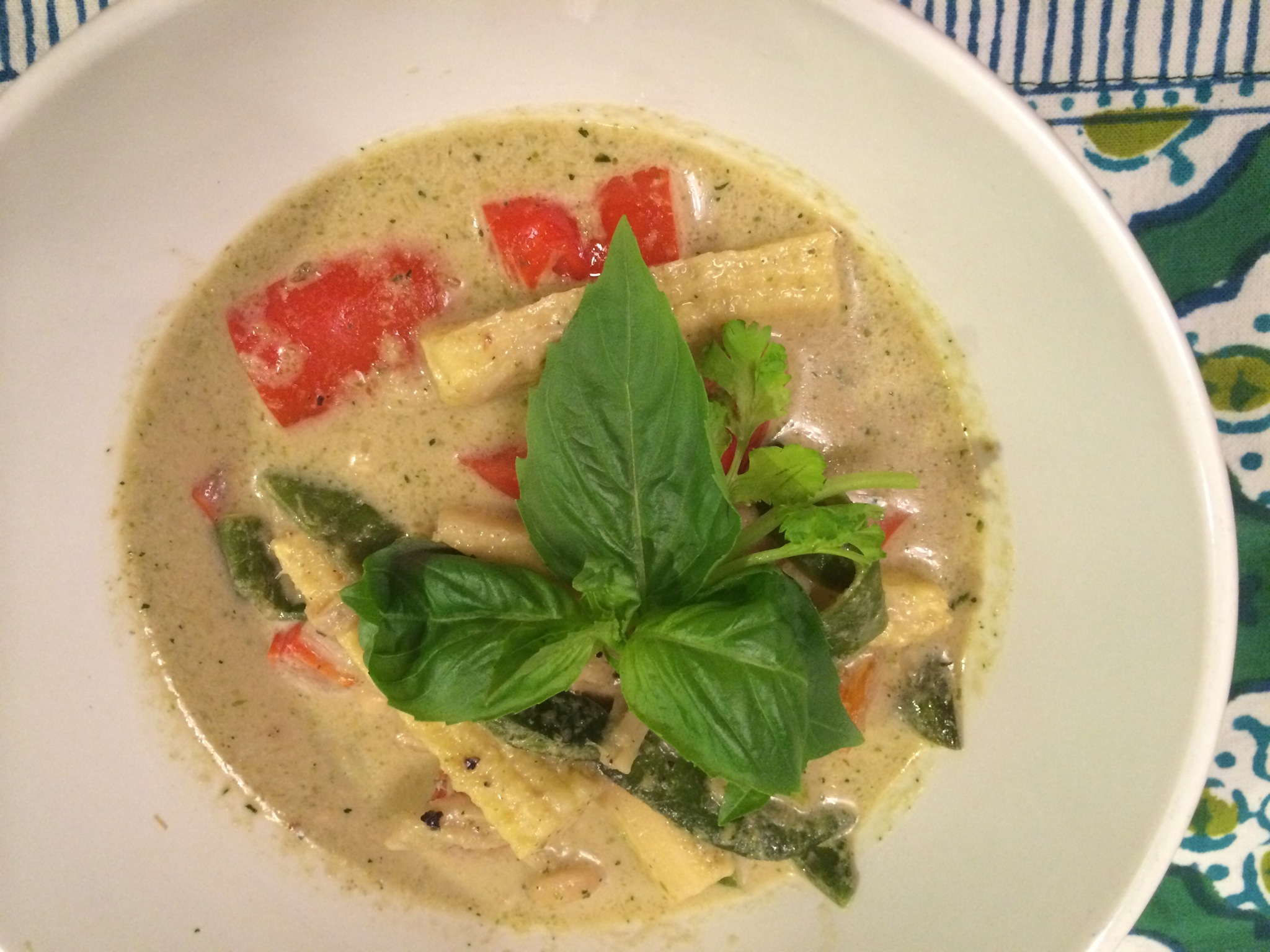 Vegetarian (Thai) Green Curry