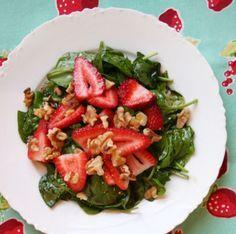 Saláta ötlet: spenót