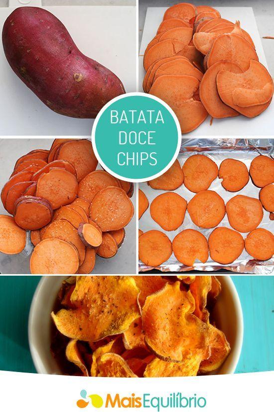 batata doce ! chips !