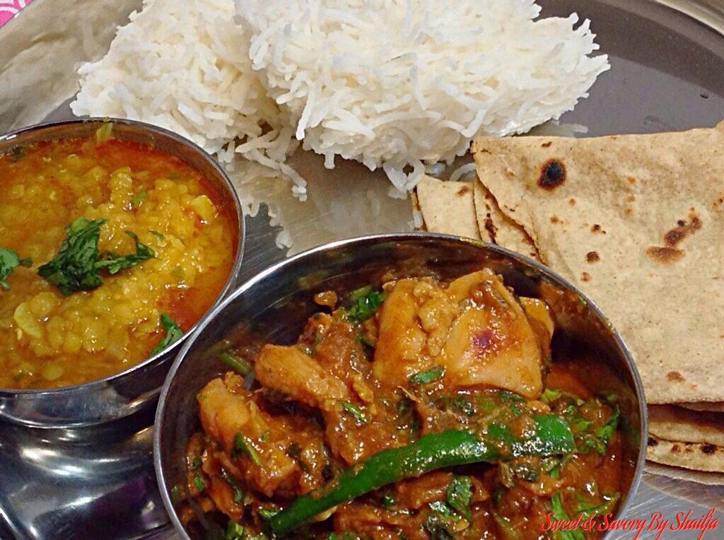 North Indian Street Style Bhuna Chicken