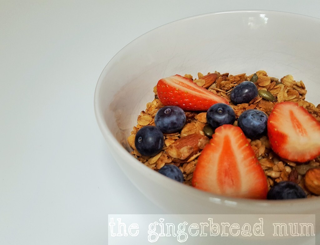 Olive oil granola – the lazy way