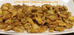 Oven roasted Cheppan Kizhangu (Colocasia)