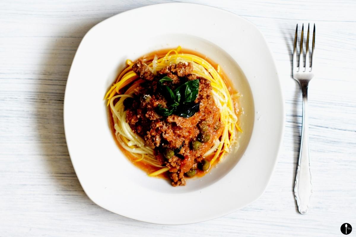 Superzdravé špagety z cukety