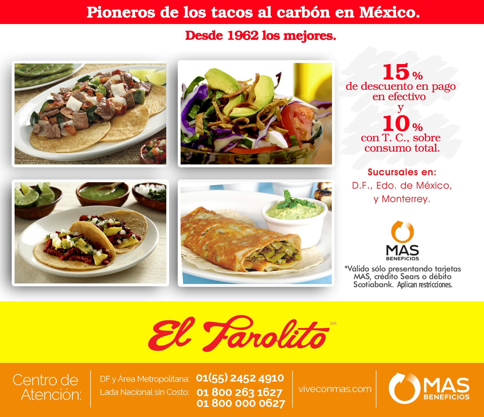EL FAROLITO, más de 50 años en la industria del Taco.
