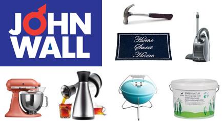 John Wall - Allt för hem, hushåll & trädgård