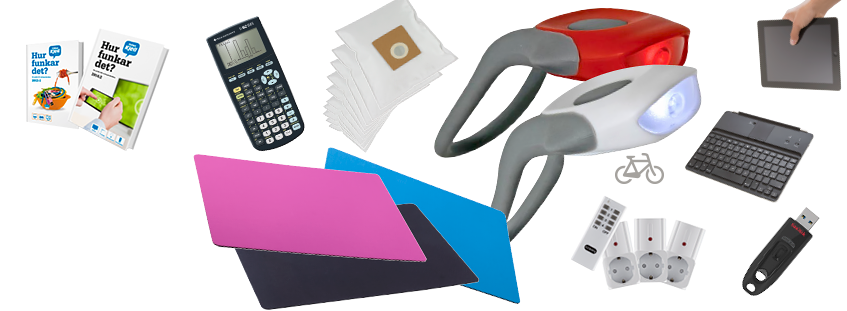 Kjell & Company har tillbehör till din hemelektronik billigt online