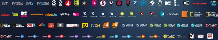 Viasat kampanjer 3 man gratis