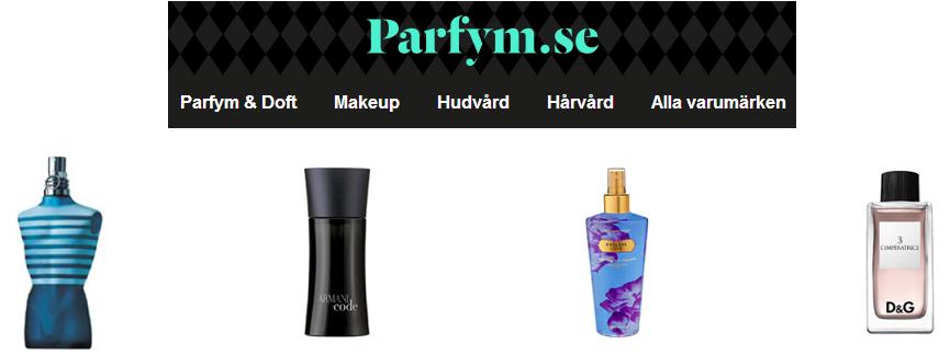 Parfym.se - Upp till 50% lägre priser på parfym