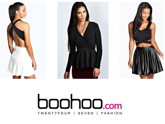 boohoo - kläder till rabatterade priser