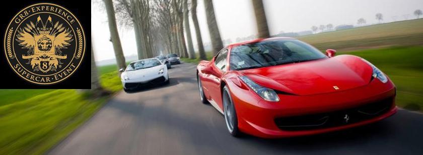 Gr8 Experience - Motorupplevelser i lyxsportbilar till bra priser