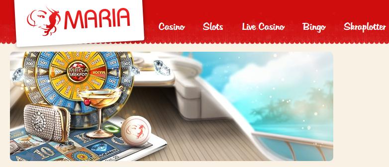 Maria Bingo rabattkoder ger dig 200% i bonus + 100 gratis spins