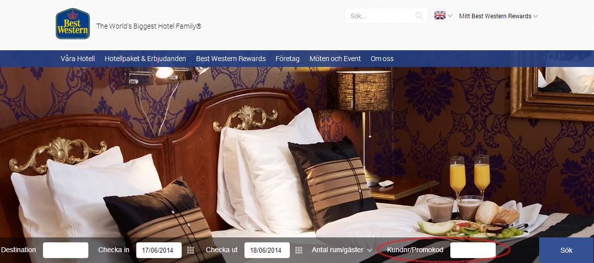 Best Western - Billiga hotell med hög kvalitet & service
