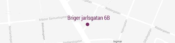 Karta Birger Jarlsgatan 6B