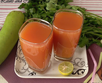 Lauki Carrot Juice -Detox Drink