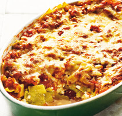 vegetarisk lasagne keso