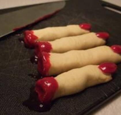 avhuggna fingrar recept