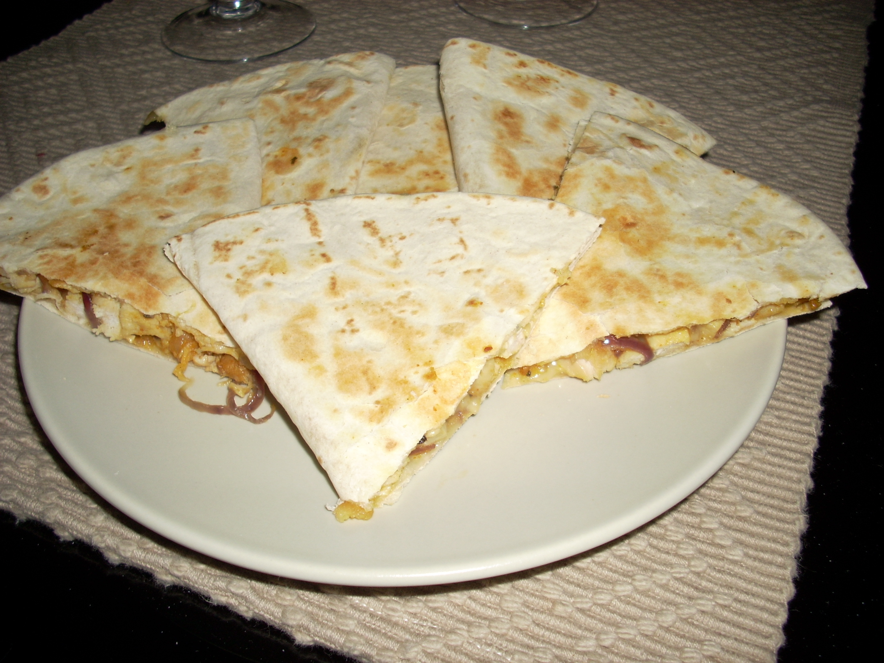 Quesadillas con Pollo