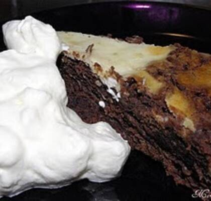 Chokolate chip cheesecake fudge mudcake