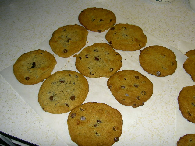 Amerikansk peanut butter chocolate chip cookie