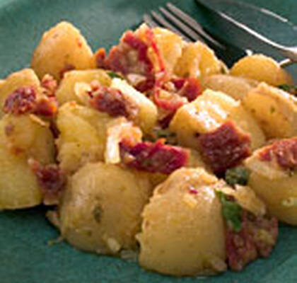 Potato salad with lemon