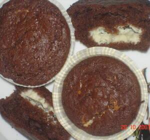 muffins med marabou mjölkchoklad