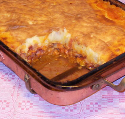Shepherd´s hot dog pie