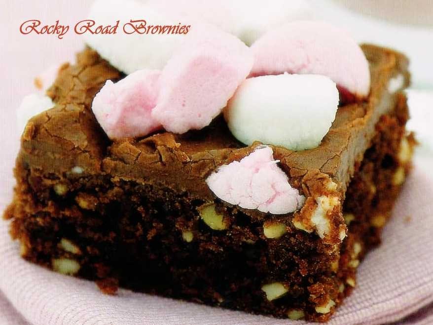 Rocky Road-Brownies
