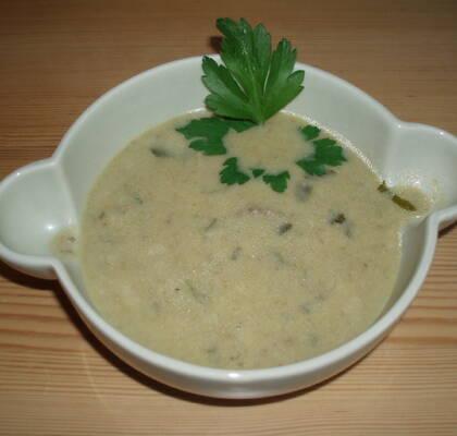 champinjonsoppa utan grädde