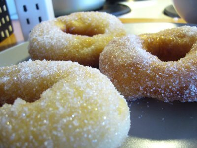 Fluffy donuts