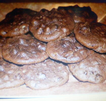 Extra chocolate chip cookies