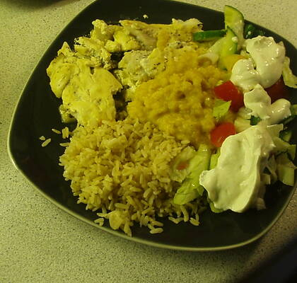 scrambled eggs i ugn