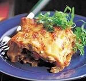 cafe aroms vegetariska lasagne
