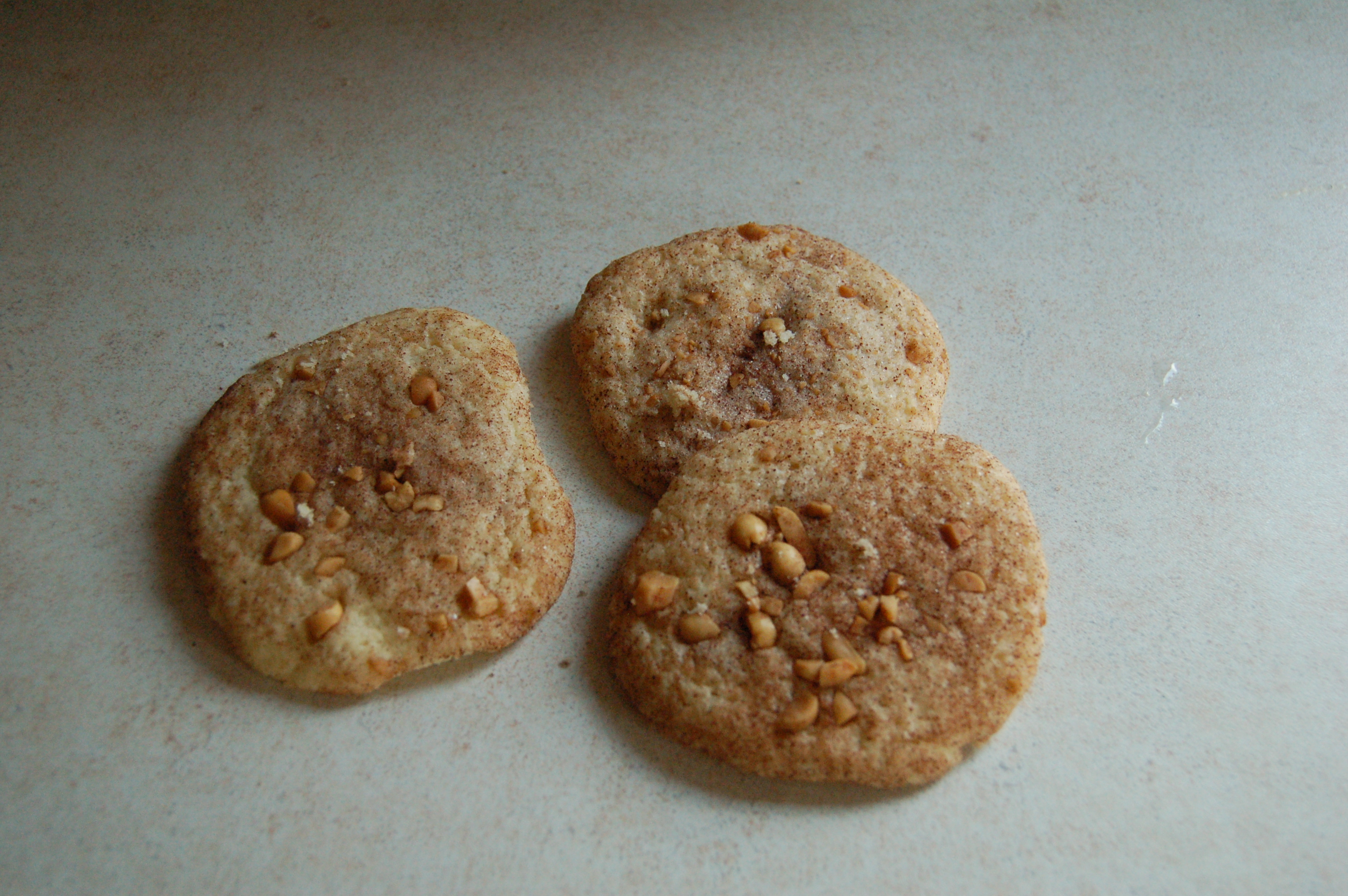 Double peanutbutter cookies
