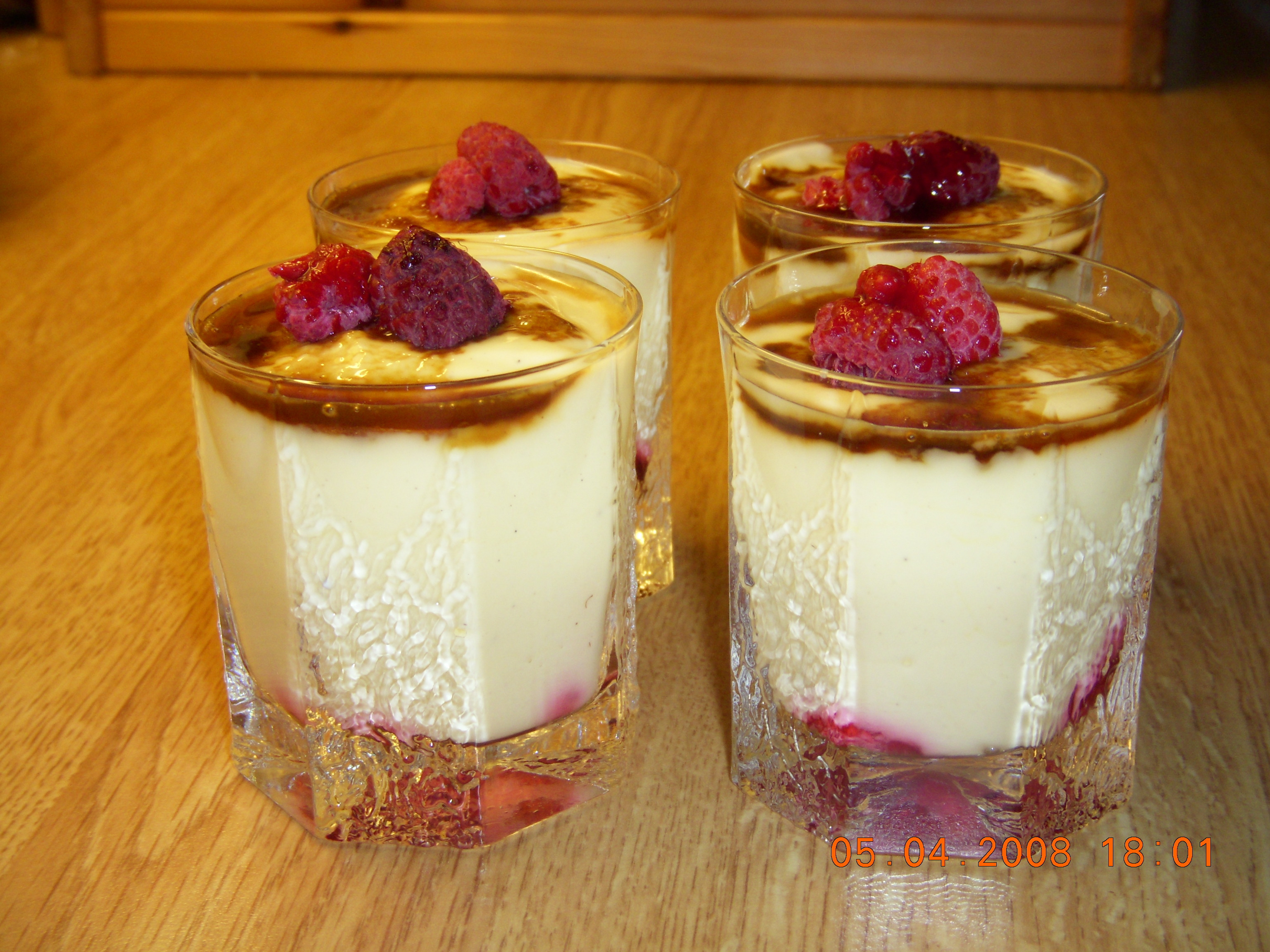 Falsk Pannacotta