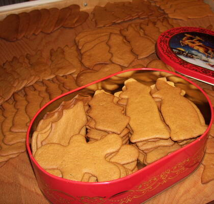 Pepparkakor (Gingerbread)