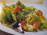 Avokadosallad med citrondressing