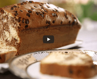 Chocolate Lemon Marble Cake Recipe Video