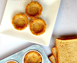 How To Make Bread Katori for Chaats | Baked Bread Katori | Bread Cups