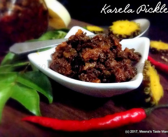 Karela Pickle - a mouthwatering accompaniment to add taste to any meal!