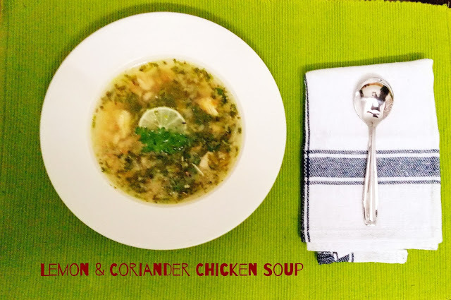 Lemon and Coriander Chicken Soup