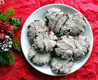 Delicious Vegan Crinkle Cookies