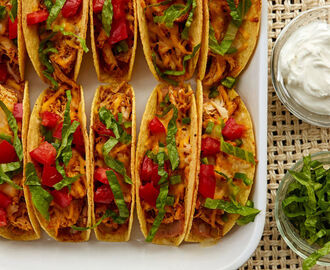 Easy Oven-Baked Chicken Tacos