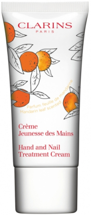 Clarins Hand & Nail Treatment Cream Mandarin Leaf - Limited Edition