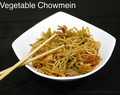 Vegetable Chowmein Recipe/ Vegetable Stir Fried Noodles