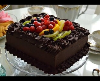 chocolate cake - YouTube